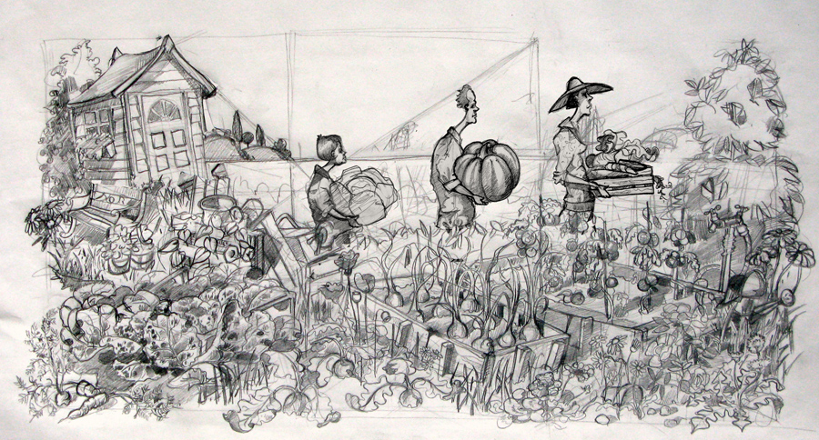 Allotment Fair Drawing
