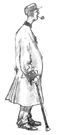Chelesa Pensioner drawing