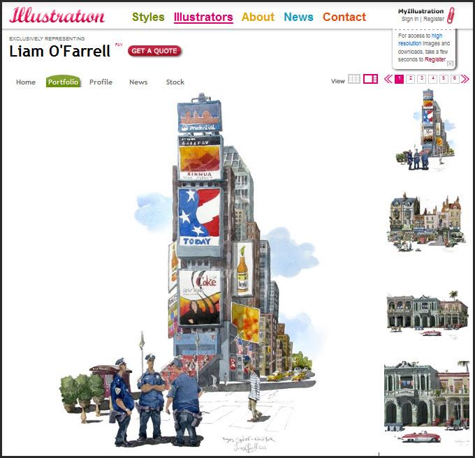 Illustration web image