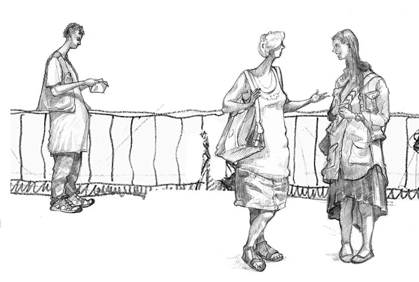 Glastonbury Tor drawing