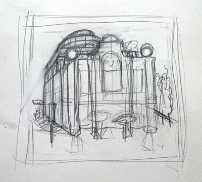 Michelin house drawing