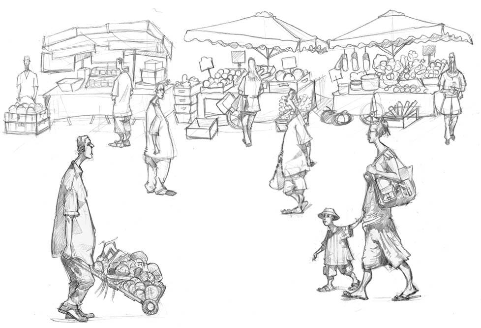 Borough Market Studies