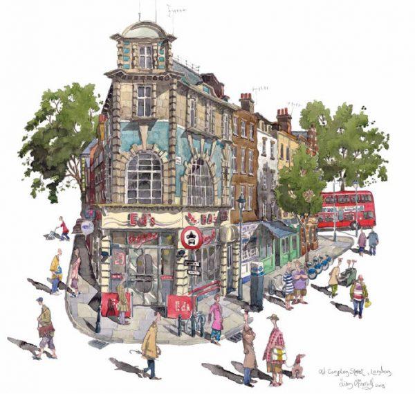 Eds Diner Old Compton Street Soho London