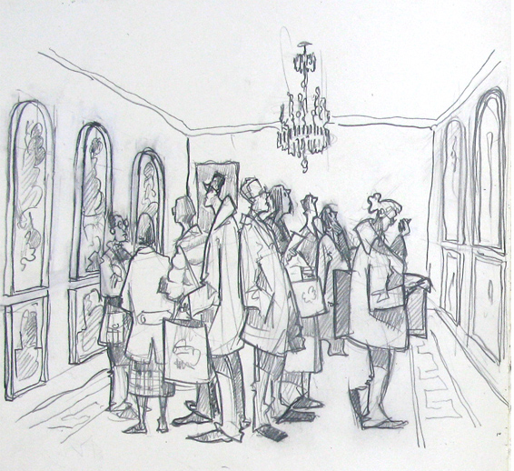 Somerset House drawing