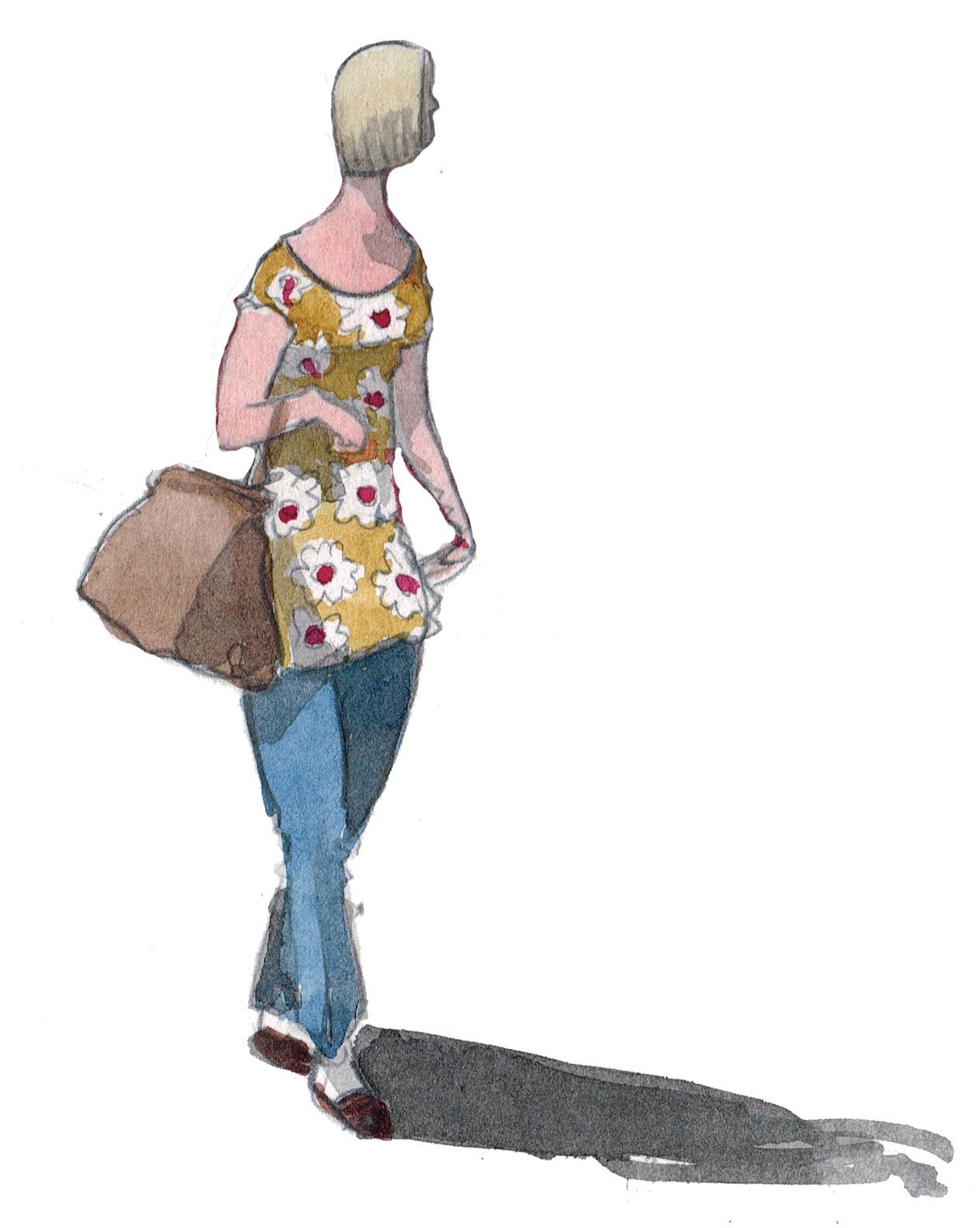 Watercolour Portobello
