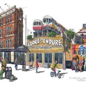 painting fo Shoreditch