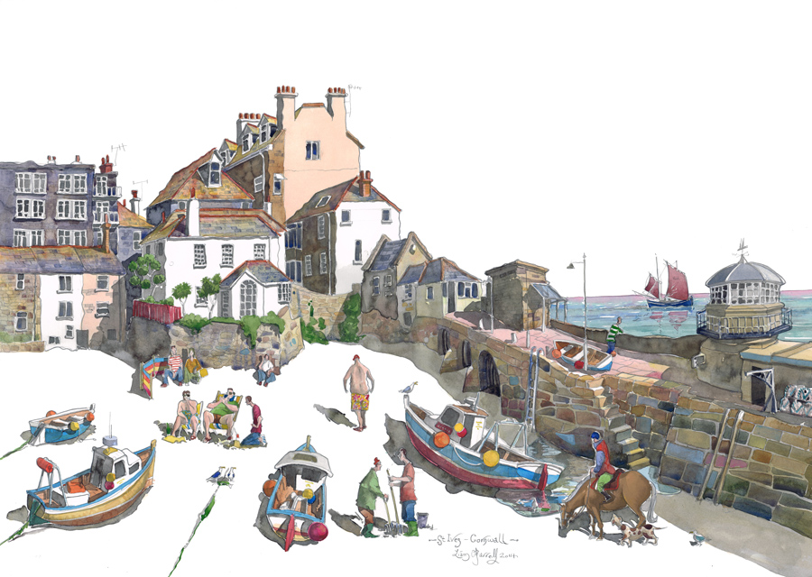 painting of St Ives