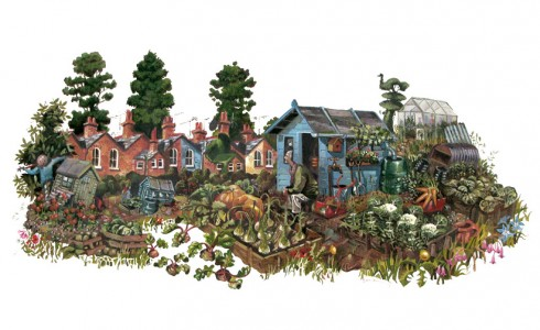 allotment painting