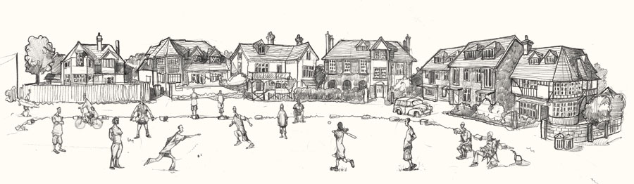 Drawing of Dymchurch