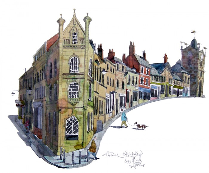 Alnwick painting