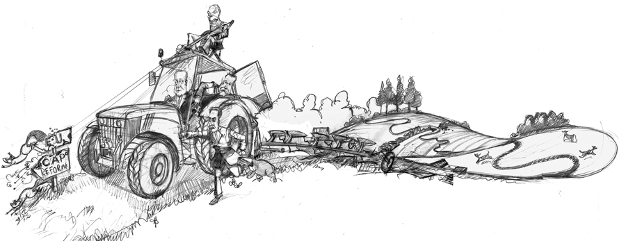 Political Cartoon drawing