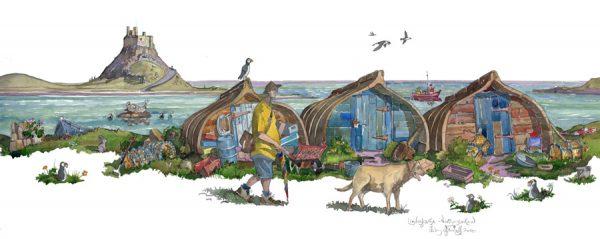 Lindisfarne painting