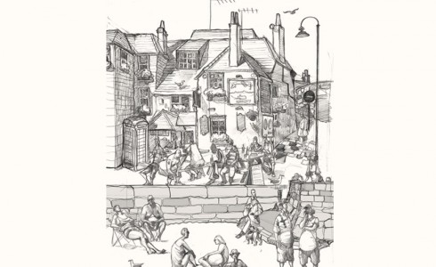 Drawing of St ives