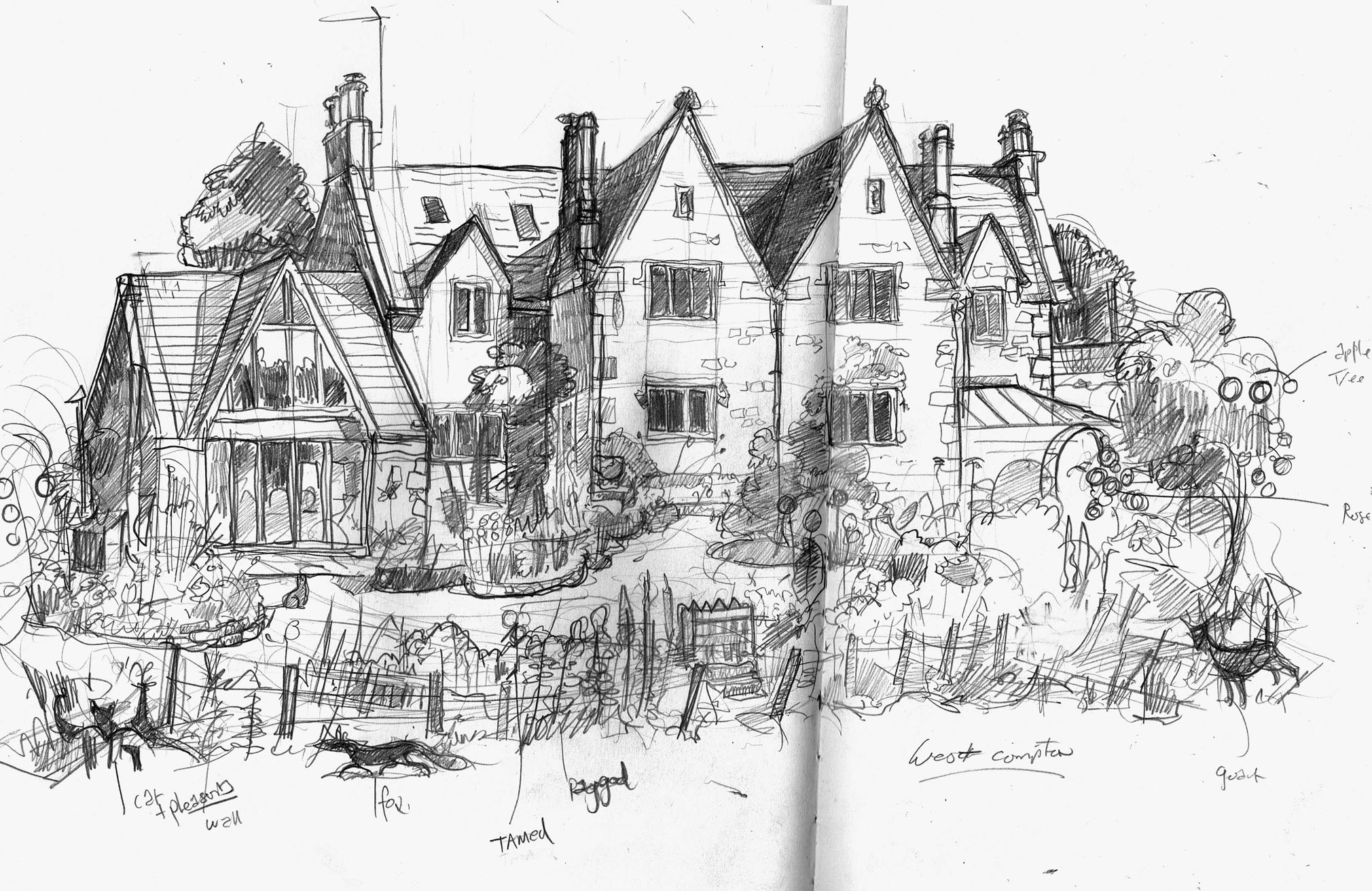 Intial Drawng of West Compton