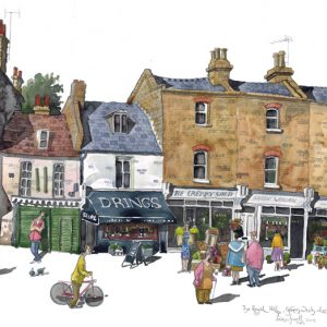 Royal Hill Greenwich painting