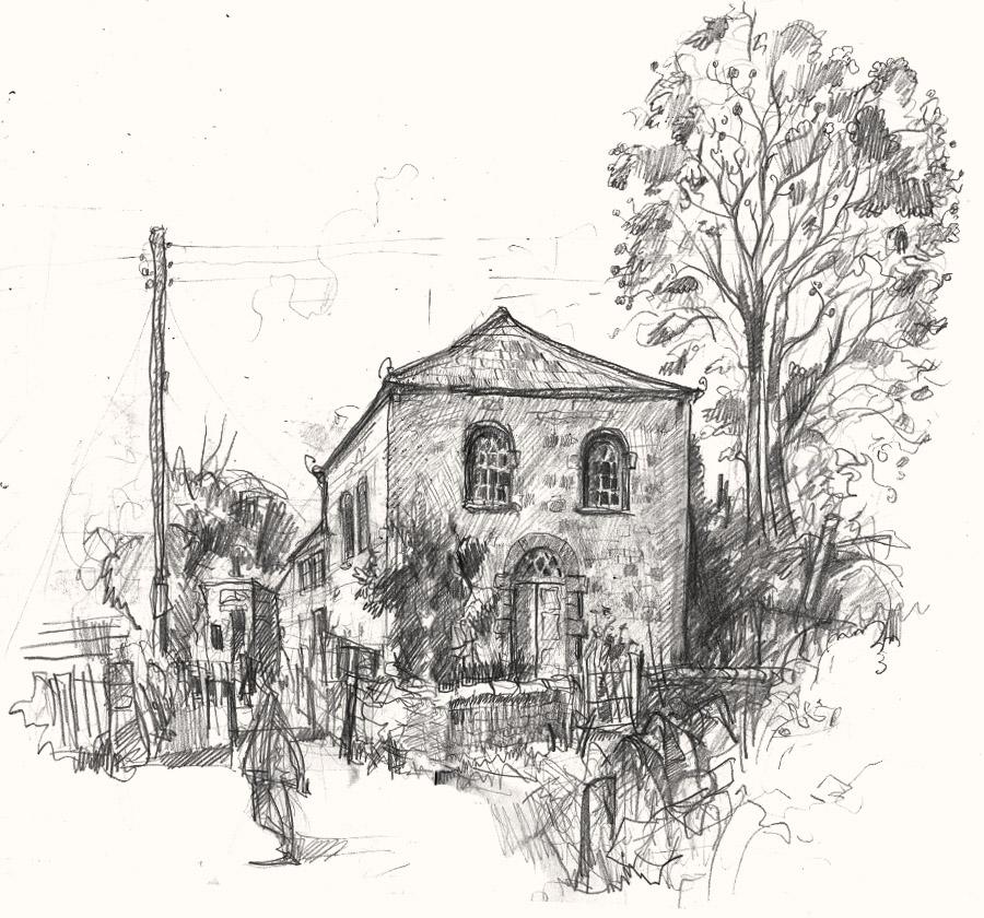 ebineza chapel drawing