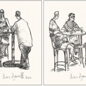 malta people drawings