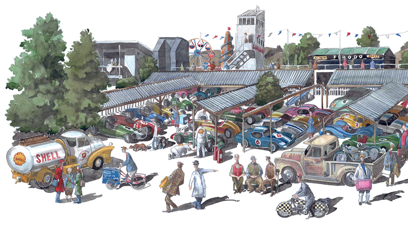 Goodwood revival painting b