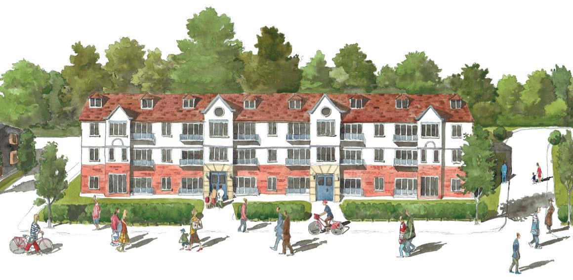final Architectural illustration