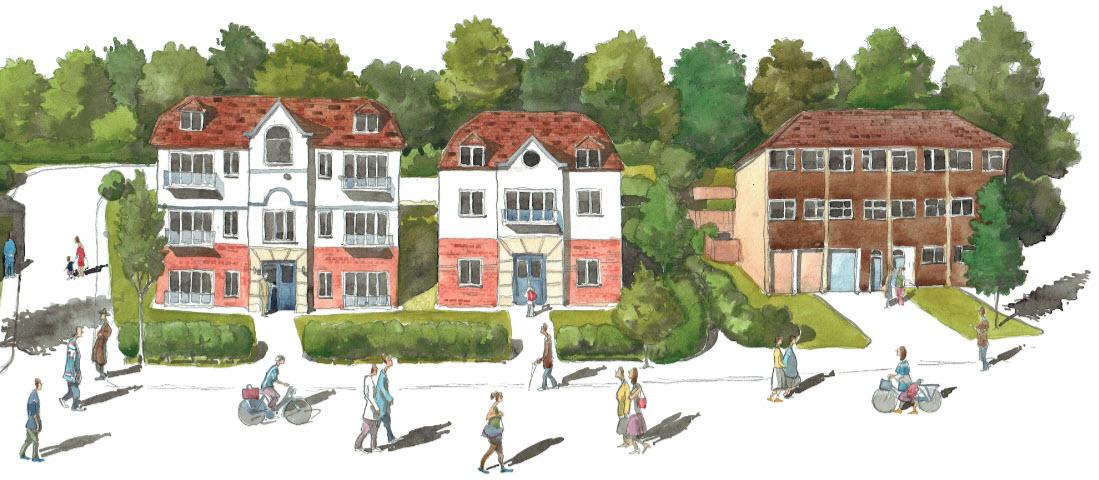 Woodside final Architectural illustration