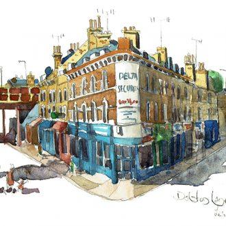 Dalston lane hackney painting