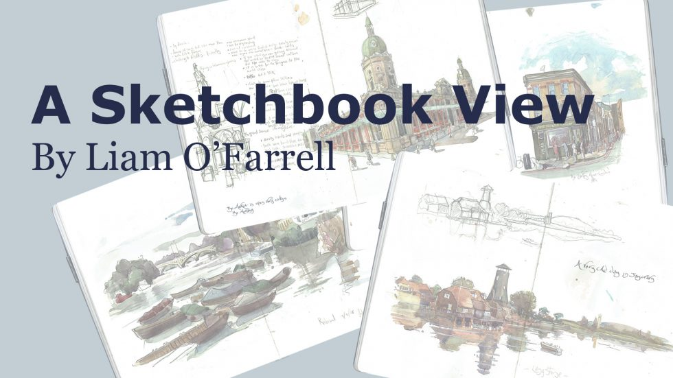A sketchbook video of Liam ofarrell artist