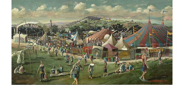 Park Stage Glastonbury for Somerset Art Works