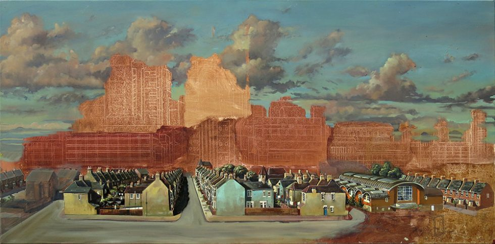Painting of the Tate and Lyle Sugar Factory