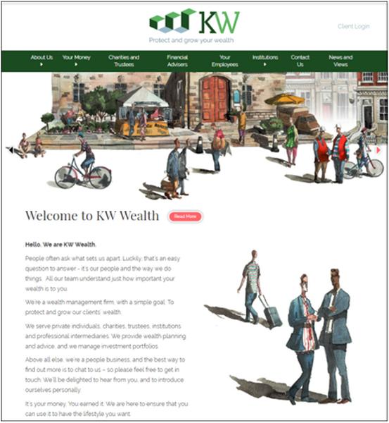 KW Wealth Webiste image