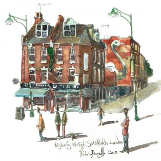 Hanbury Street Spitalfields, London