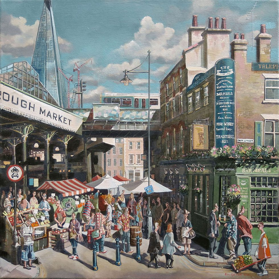 painting of The Market Porter