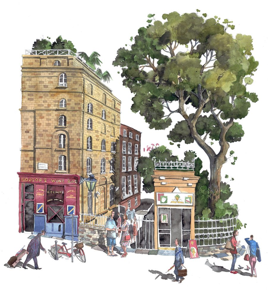 Gordon's Wine Bar, London