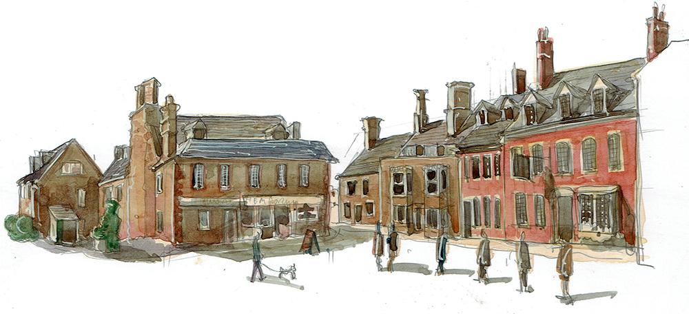 Painting Highworth visual 2