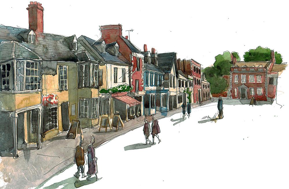 Painting Highworth visual
