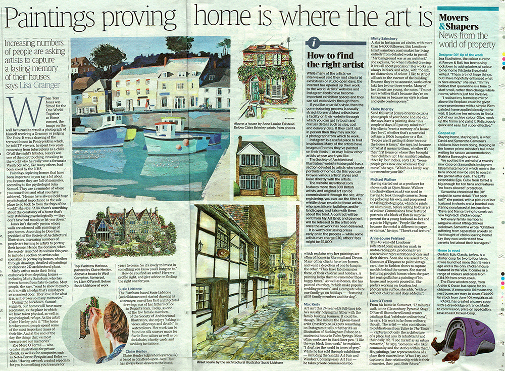 Article in The Times on painting