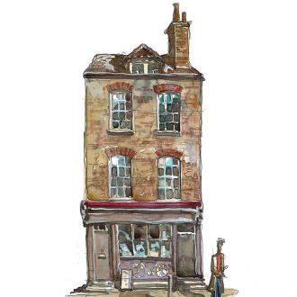 Fournier street Spitalfields London