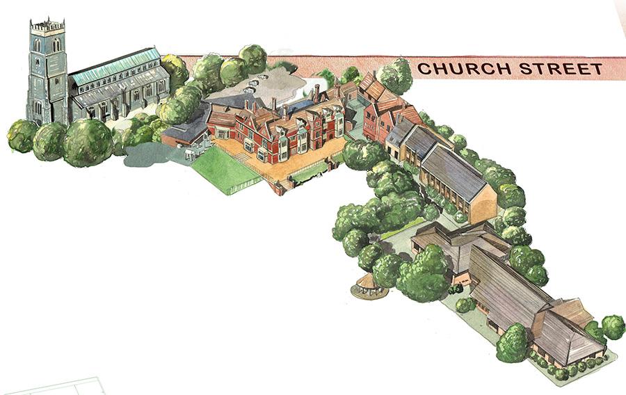 Woodbridge Prep School Map Detail 2