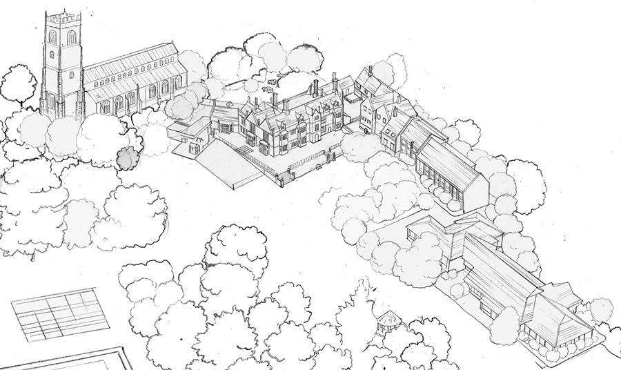 Woodbridge Main School Map Detail 3