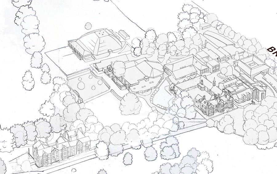 Woodbridge Main School Map Detail 4