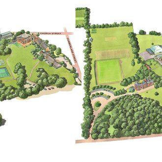 Woodbridge Prep School Map combined