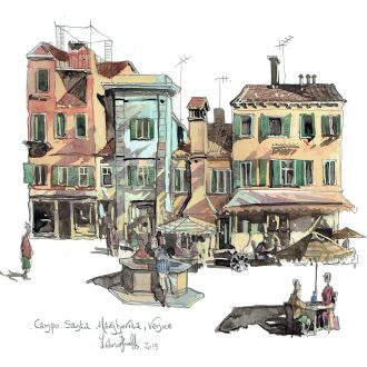 Campo Santa Margherita Venice